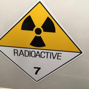 Radiation Vehicle Sign