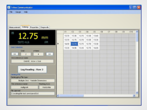 Thickness Gauge Data Logging Software