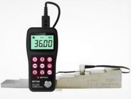 NDT, ultrasonic thickness gauge, MT180