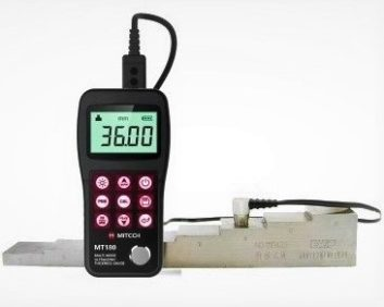 NDT, ultrasonic thickness gauge, MT180