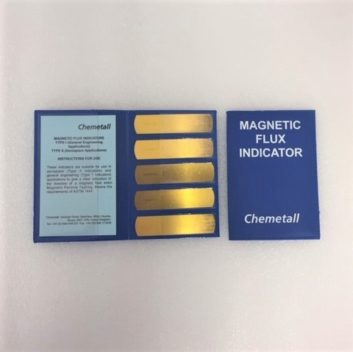 Magnetic Flux Strips For MPI Testing, ndt