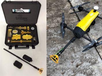 Drone Ultrasonic Thickness Gauge