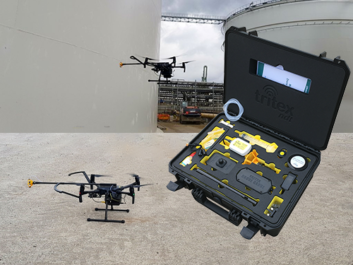 Drone Thickness Gauge for Non Destructive Testing