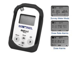 Survey Meter, Rate Alarm and Electronic Personal Dosimeter