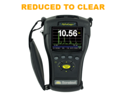 Discounted thickness gauge