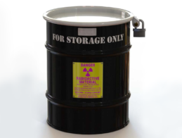 Isotope Storage Pot